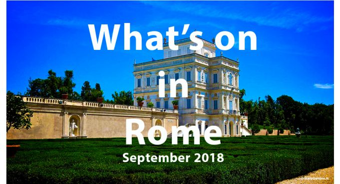 What to do in Rome in September 2018