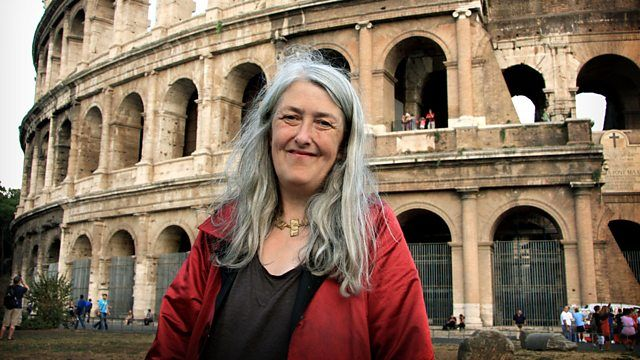 Mary Beard at American Academy in Rome