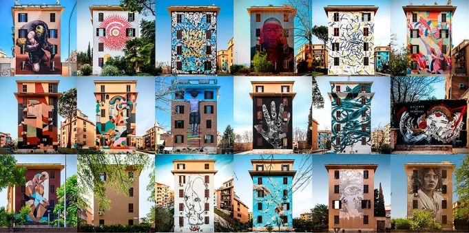 Big City Life: Rome's open-air street art museum