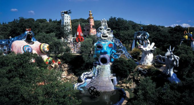 Tarot sculpture garden in Tuscany