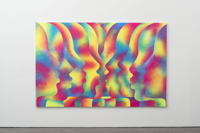 Eddie Peake at Rome's Lorcan O'Neill Gallery
