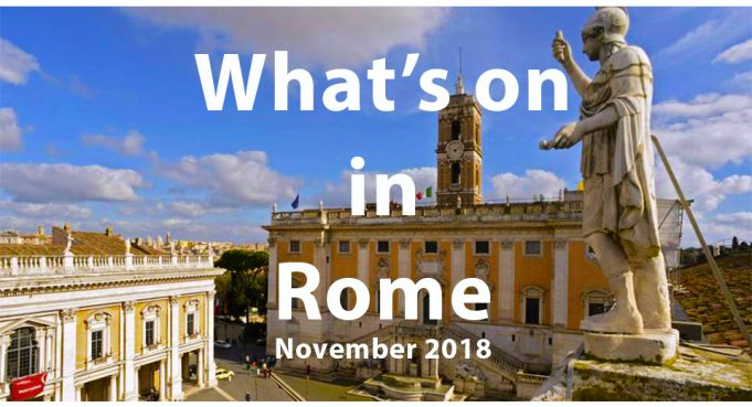 What to do in Rome in November 2018