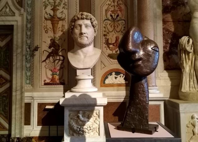 Picasso sculptures at Galleria Borghese in Rome