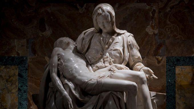 New illumination for Michelangelo's Pietà
