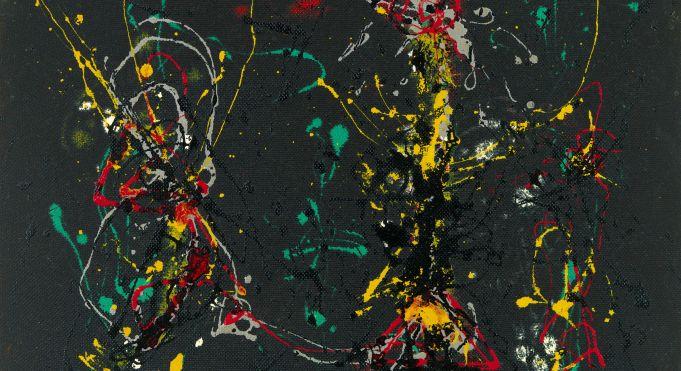 Rome celebrates Jackson Pollock with exhibition