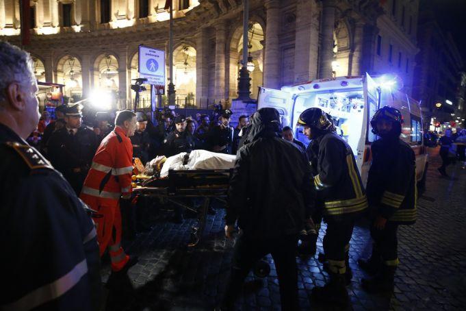 Dozens injured in Rome metro escalator accident