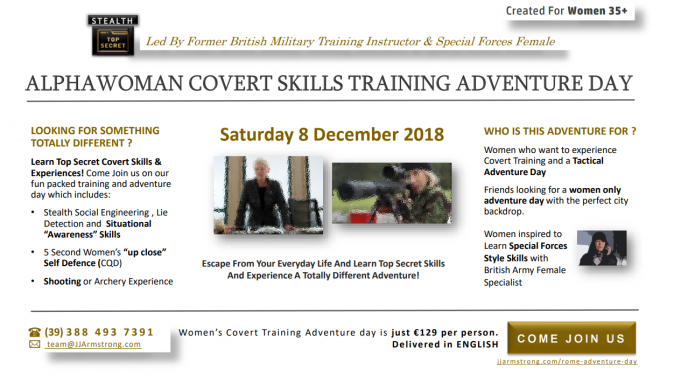 Military Style Adventure Day For Women +35