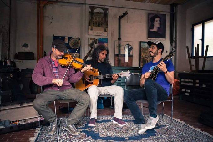 American Folk & Blues concert at Teatro S. Genesio