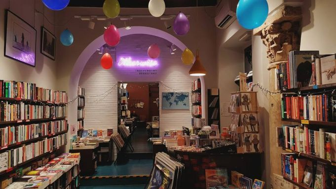 Rome's Otherwise bookshop celebrates one year
