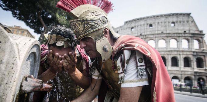 Rome bans centurions, pub crawls, street drinking