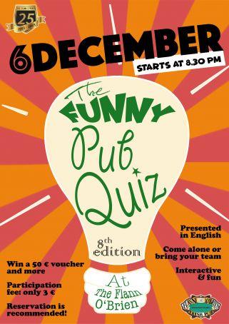 The FUNNY PUB QUIZ - 8th edition