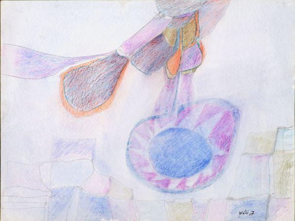 Achille Perilli show at Galleria La Nuvola in Rome