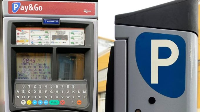 Rome bus tickets on sale at parking meters