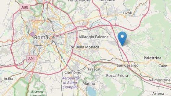3.2 magnitude earthquake east of Rome