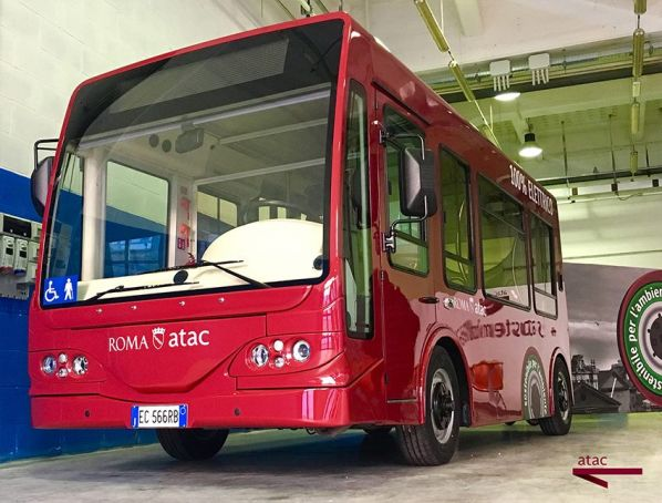 Return of Rome's electric buses