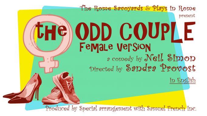 The Odd Couple: Female Version in Rome theatre