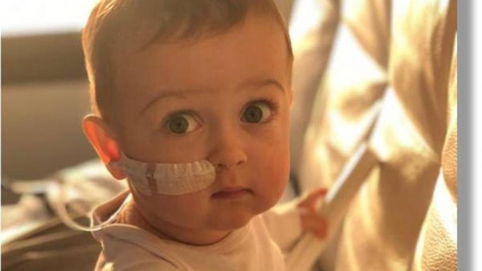 Transplant success for Baby Alex in Rome hospital
