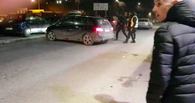 Drunk driver rams Rome bouncers