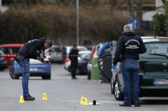 Man gunned down outside Rome playschool