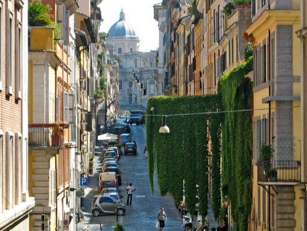 Pedestrianisation plan for Rome's Monti quarter