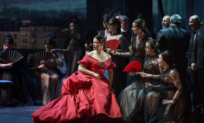 La Traviata at Rome opera house