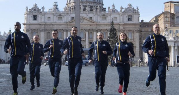 Vatican launches athletics team with nuns, priests and Swiss Guards