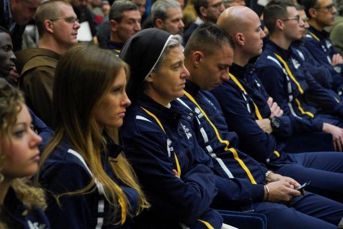 Vatican athletics team secures first success