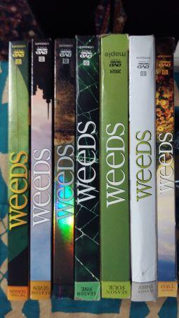 Lot of DVDs - TV Series WEEDS