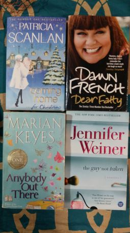Lot of 4 funny English paperback books