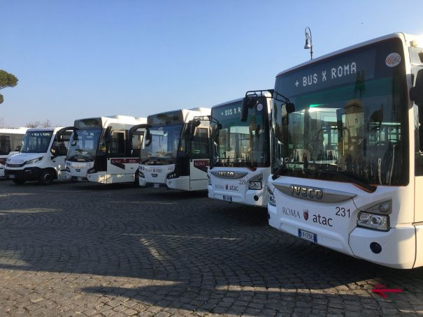 Rome gets 227 new buses and 200 new drivers