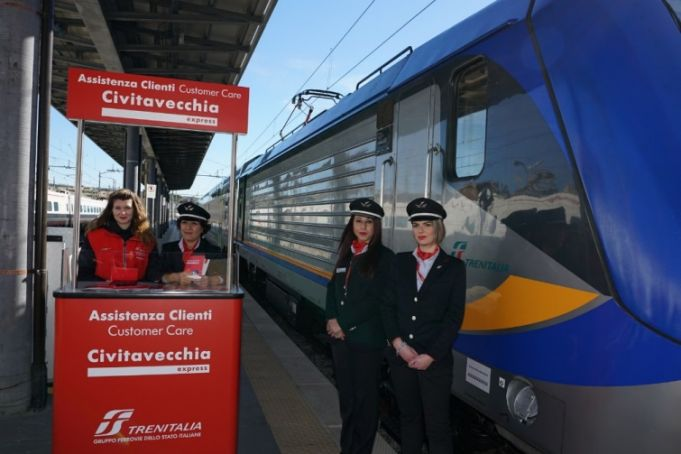 New express train from Civitavecchia to Rome