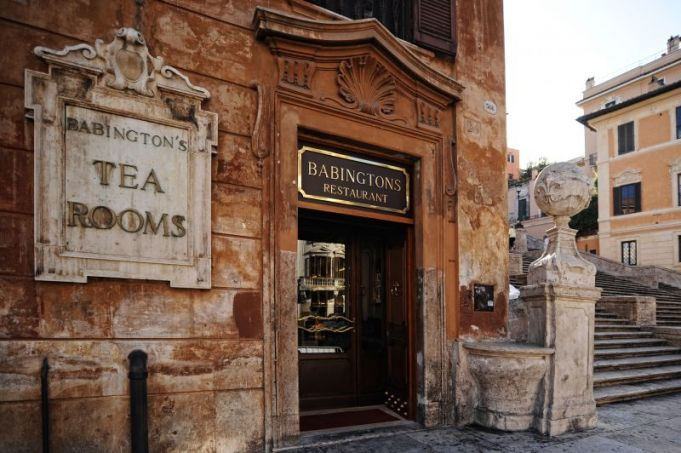 Babingtons Tea Room: Victorian traditions in Rome