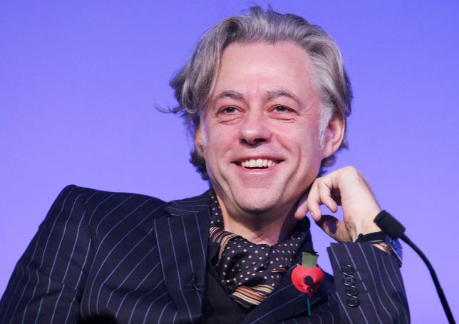 Bob Geldof reads Keats love letters in Rome