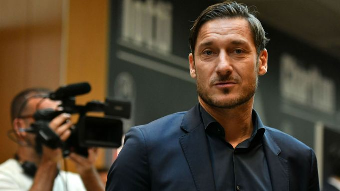 Totti to be Italy ambassador at Euro 2020 in Rome