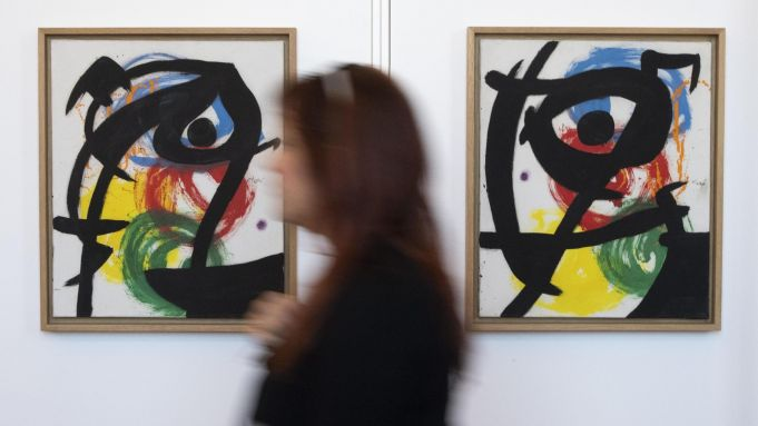 Miró exhibition in Rome