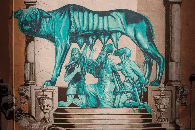 Rome removes Suburra mural in Pigneto