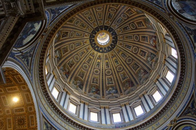 Climbing St Peter's dome in the Vatican - Wanted in Rome