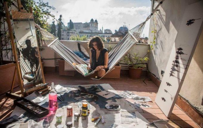 Rome through the eyes of 100 women