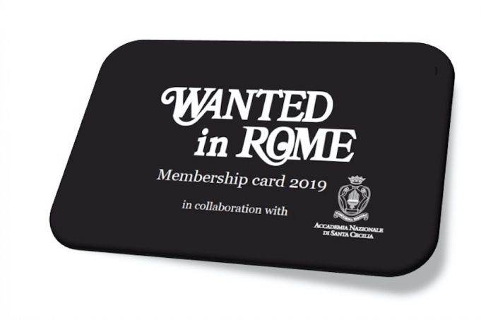 The Wanted in Rome Card 2019 is out now