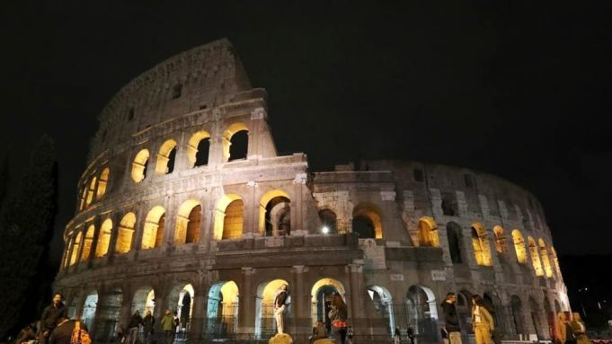 Rome renews Colosseum lighting system