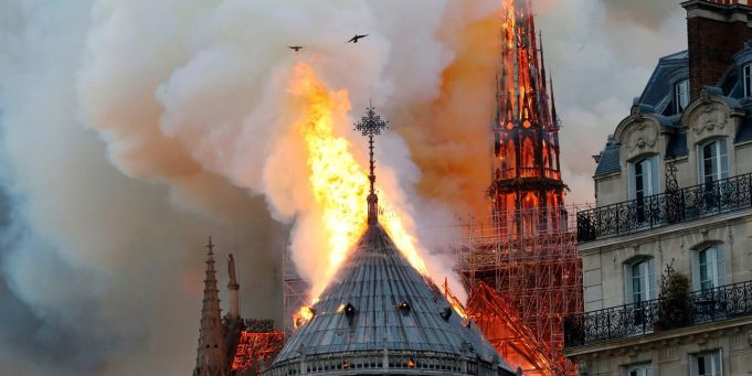 Rome sends condolences to Paris over Notre-Dame fire