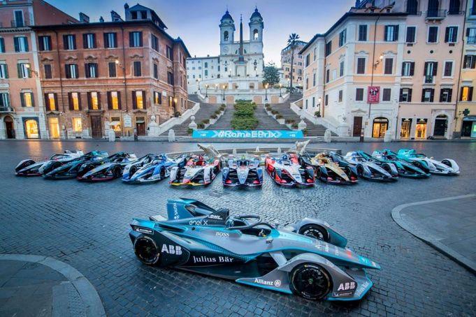 Traffic disruption in Rome for Formula E race