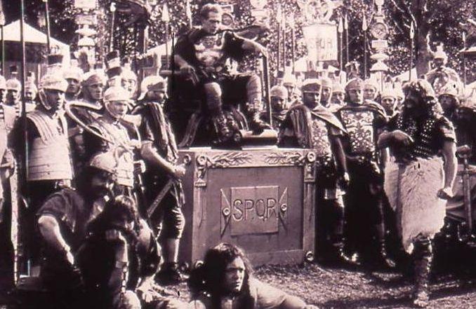 British School at Rome screens silent movie about Julius Caesar