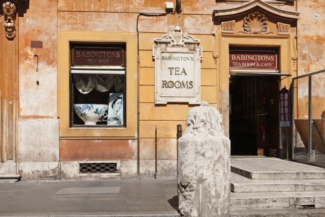 Babingtons celebrates Queen Victoria in Rome