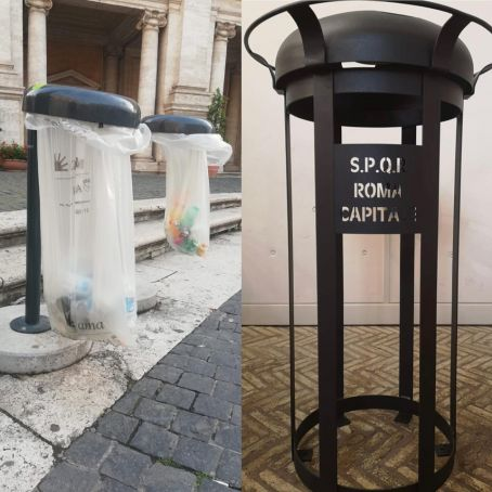 Rome to get new rubbish bins