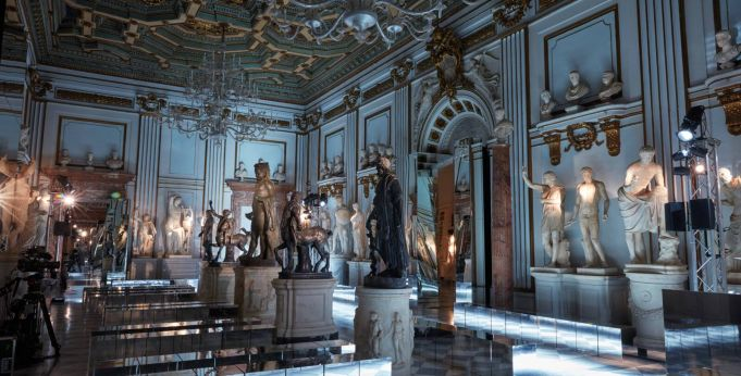Gucci at Capitoline Museums in Rome