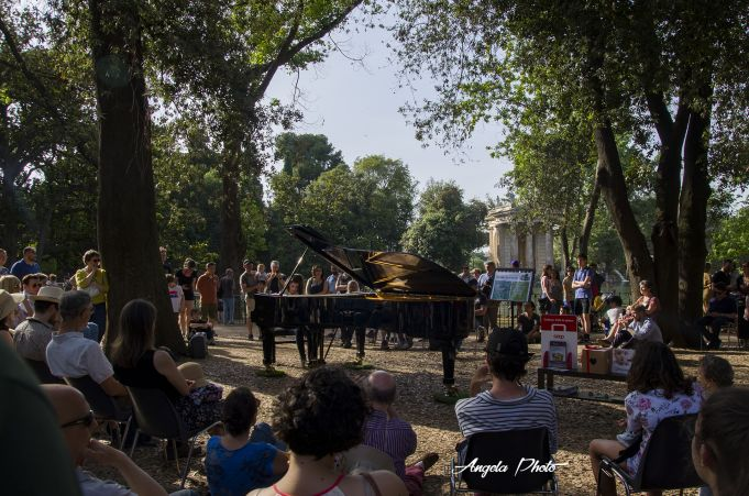 Piano Day at Villa Borghese in Rome