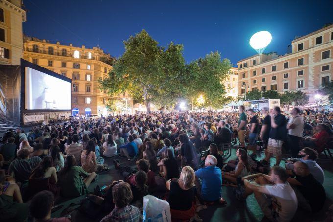 Il Cinema in Piazza: Rome's free outdoor film festival