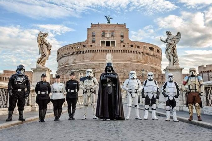 Star Wars Day in Rome