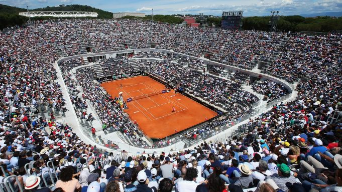 2019 Italian Open Tennis in Rome